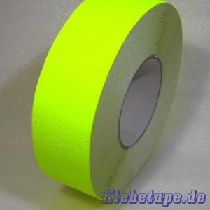 anti rutsch klebeband neon gelb 50mm x 18m safety tape fluoreszierend. Black Bedroom Furniture Sets. Home Design Ideas