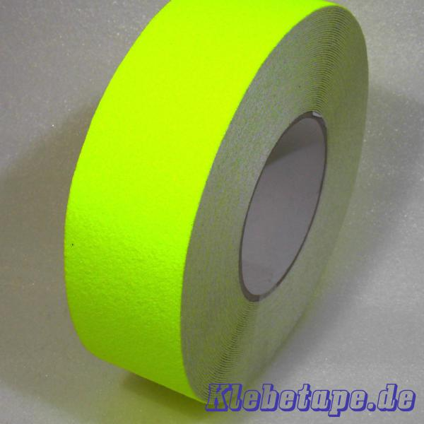 anti rutsch klebeband neon gelb 50mm x 18m safety tape. Black Bedroom Furniture Sets. Home Design Ideas