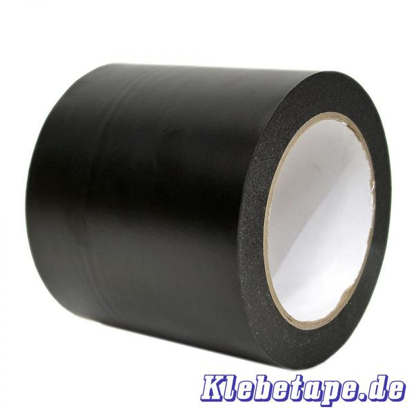 weich pvc klebeband 100mm x 33m matt schwarz. Black Bedroom Furniture Sets. Home Design Ideas