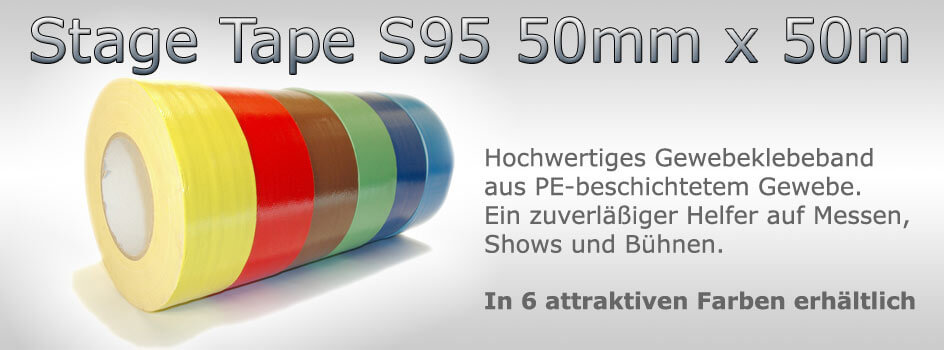 Aktuelle Angebote: Stage Tape S95 50mm x 50m